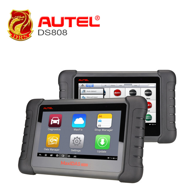 Autel MaxiDAS DS808 Maxisys scan tool & Analysis System ALL electronic systems live data ECU programming