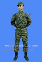 HOT selled 190gsm rip-stop 65%35%T/C army BDU uniform