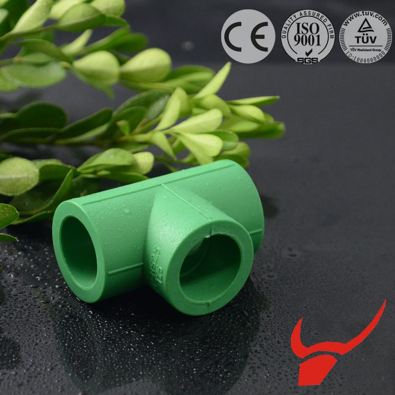 Oem factory china water main tee ppr equal tee for pipe connection
