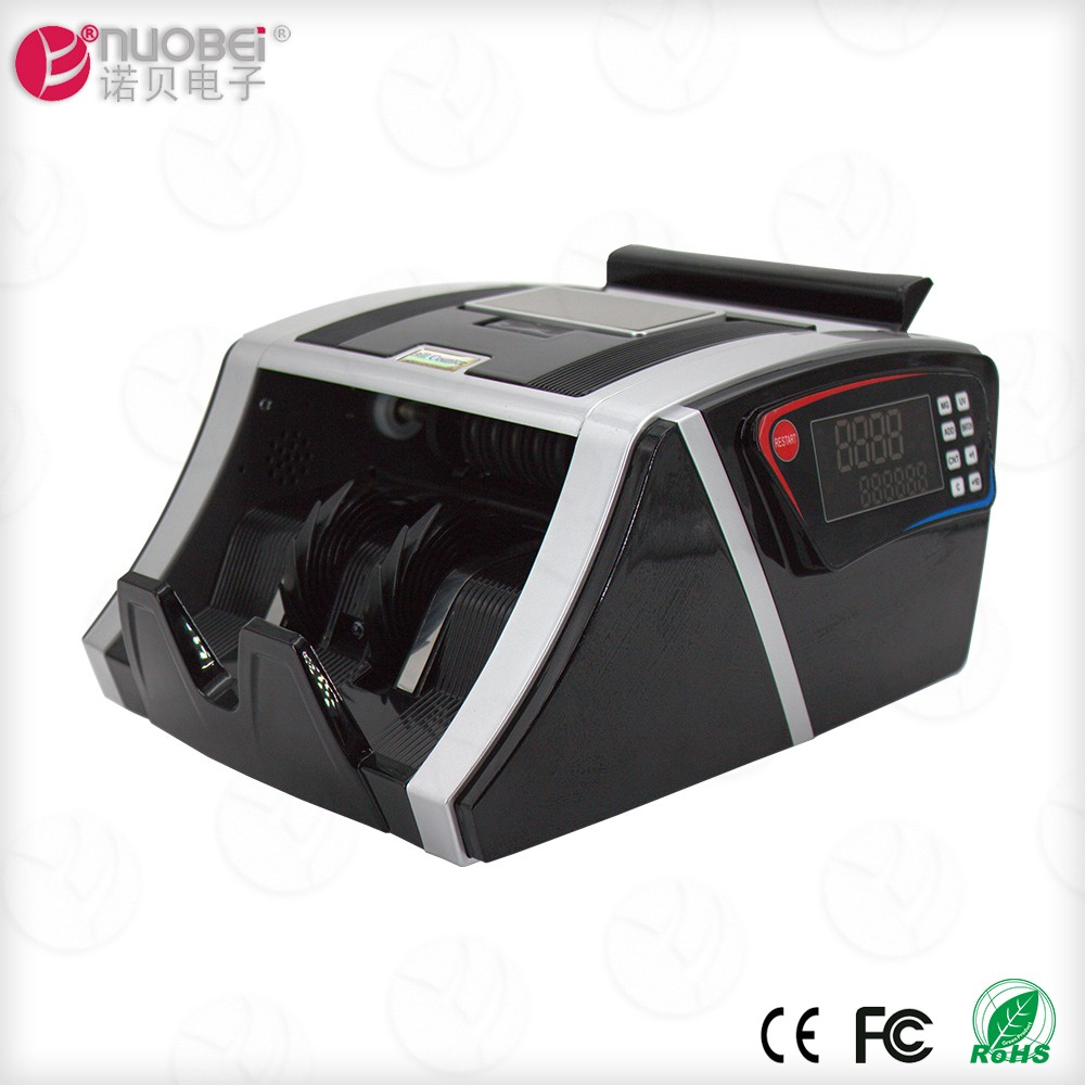 USD/EUR/GBP/INR currency price of note counting machine with fake note detector