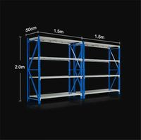 Cheap price direct from China manufacturer industrial light duty storage pallet rack
