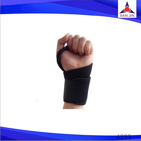 Compression straps elastic crossfit wrist wraps for wrist pain wrist support