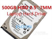 original 2.5″ 2.5 inch HDD 500GB 5400Rpm 7MM Internal Laptop Hard Drives disk SATAII 500g WD5000LPVX ST500LT012 for Notebook