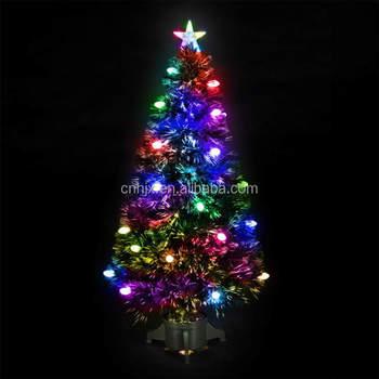 Indoor Kleurrijke Vuurwerk Pvc Glasvezel Kerstboom Top Ster ...