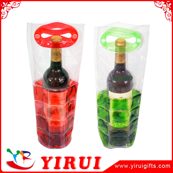 fashion travel portable gel wine bottle cooler
