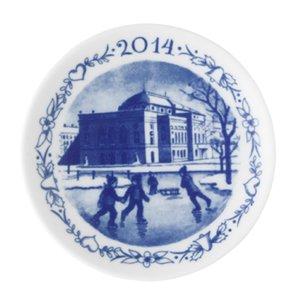 Royal Copenhagen 1414702 Annual Christmas Plaquette 2014