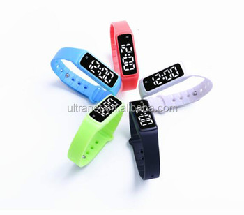 Custom Logo Timer 3d Pedometer Fitness Band Smart Kids Digital Watch Buy Kids Digital Watchfitness Band3d Pedometer Product On Alibabacom