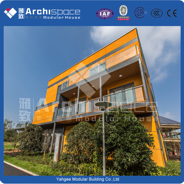container house villa with kit homes made in china