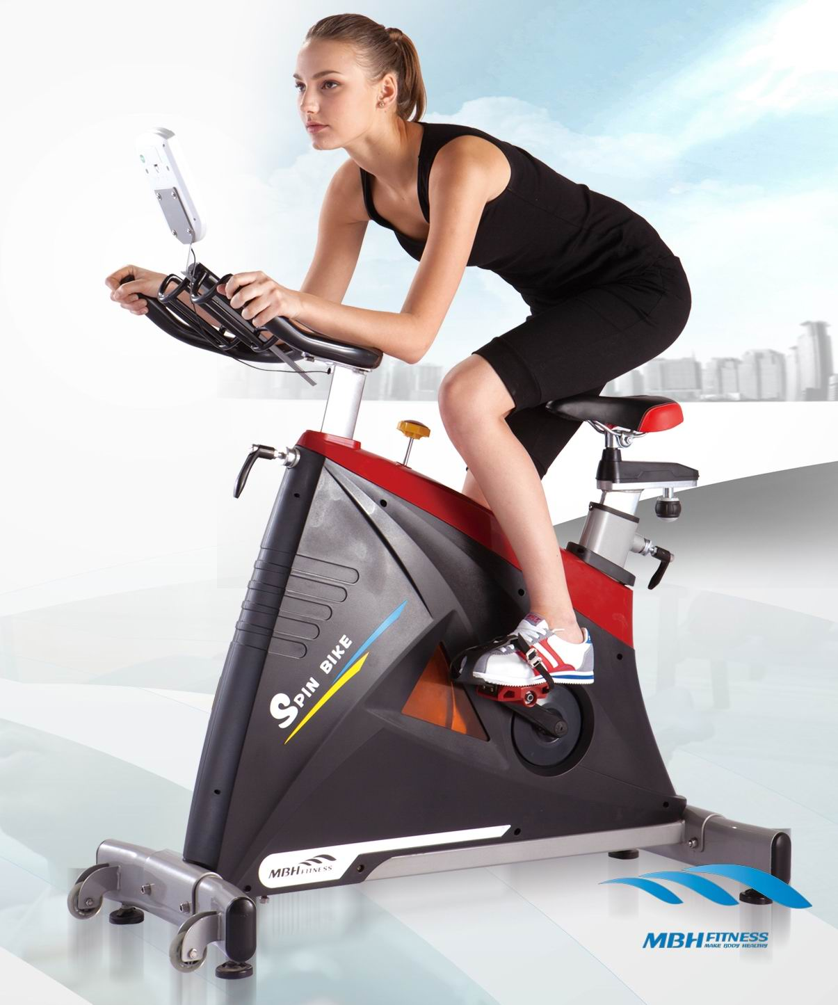 CE approved pedal exercise bike
