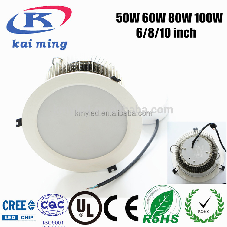 Super Brightness 10000 Lumen Creechip 100w 120w Led Downlight ...
