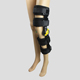 Drop lock style advanced hinged adjustable range motion knee brace