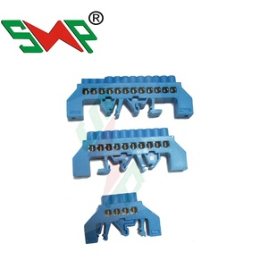Terminal Connector Brass Bar/Din rail terminal/copper teminal block