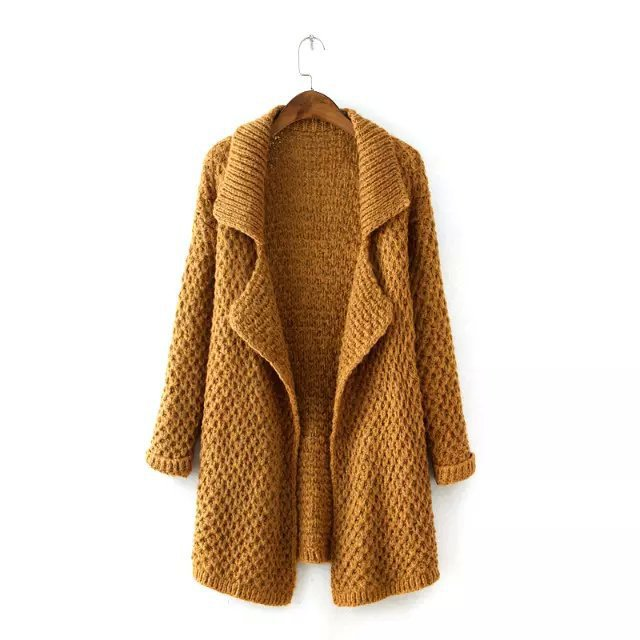 a71f181ea81 Get Quotations · fashion oversized sweater autumn 2015 sweater tunic long  wool cardigan cute winter sweaters full sleeve knitted