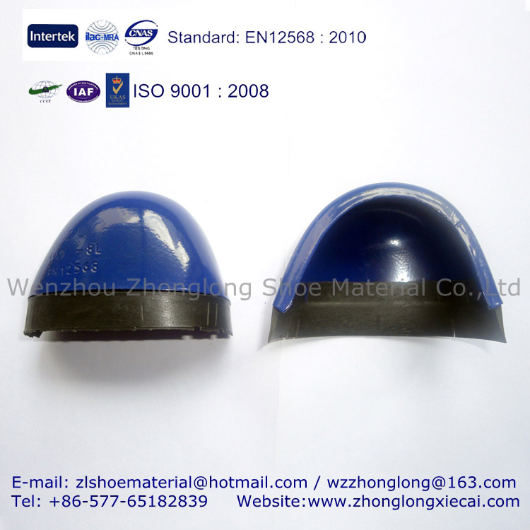 459 Steel Toe Cap With Rubber Strip For Safety Shoes