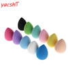 YAESHII Factory Price!! TearDorp Shape Cosmetic Blender Sponges Miracle Complexion Sponge Beauty Makeup Sponge