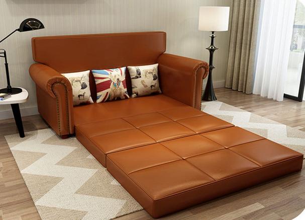 Klassische Multifunktionale Sofa Bett, Klapp Wohnzimmer Amerikanischen Stil  Holz Sofa Bett