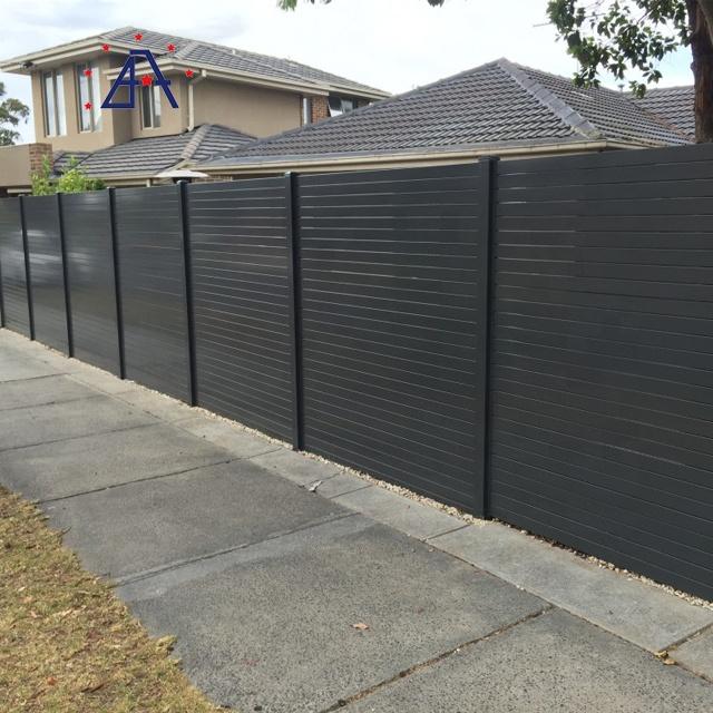 China Black Metal Fence Top Black Aluminum Fence Panel China Aluminum Fence Panel Black Aluminum Fence Panel