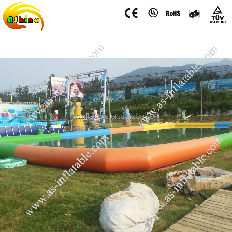 Popular inflatable portable swimming pools in china