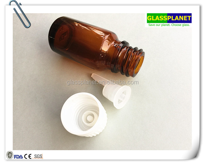 5ml 10ml 15ml 20ml 30ml 50ml 100ml Glass Bottle for Essential Oil, Perfume, E-liquid and Reagent