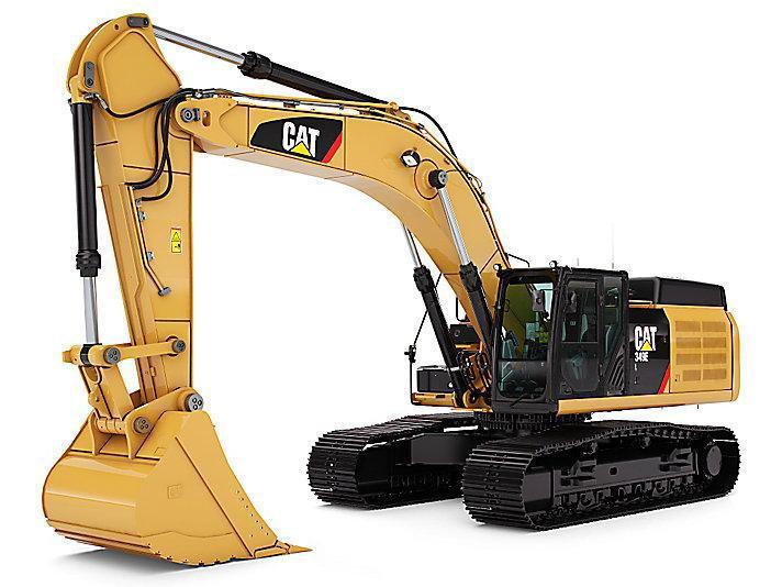 A Brand New Cat 349 El Excavator
