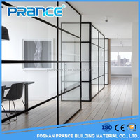 Soundproof office partition glass cubicle partition office partition glass wall