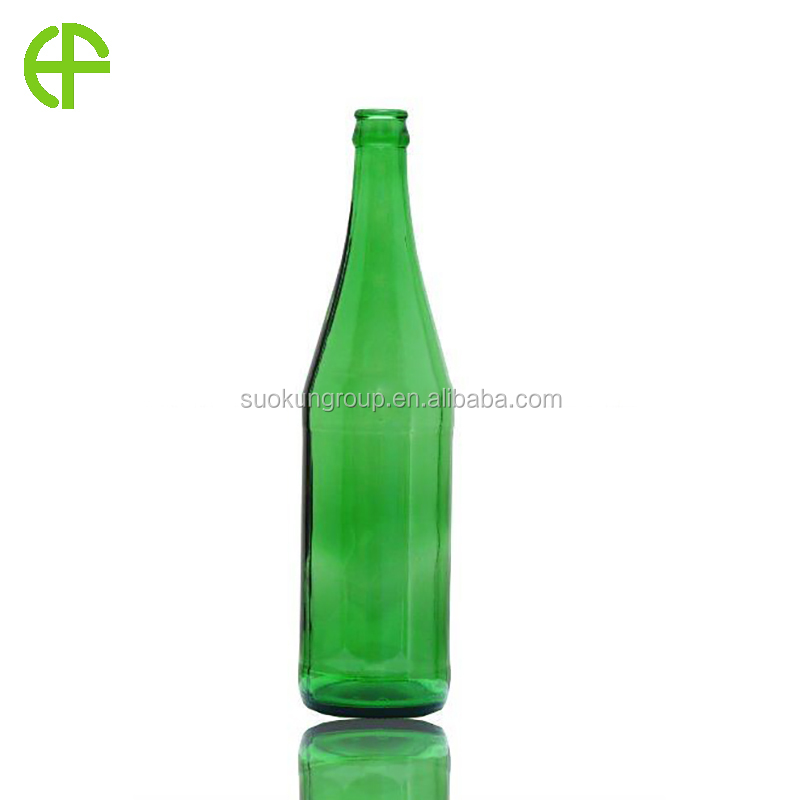 B0011 640ml emerald beer glass bottle