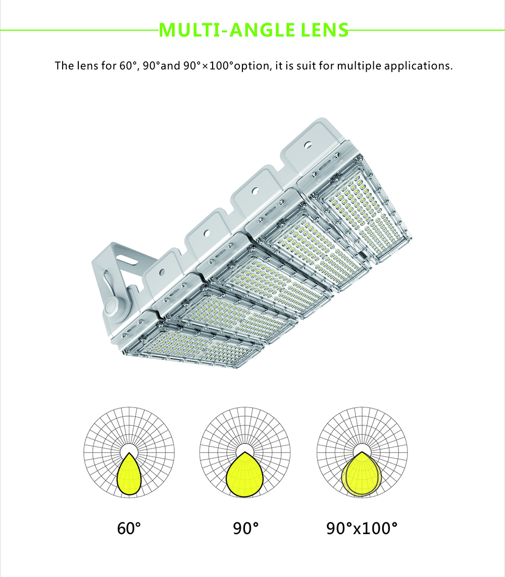 50w 60w 100w 120w IP65 outdoor led flood light