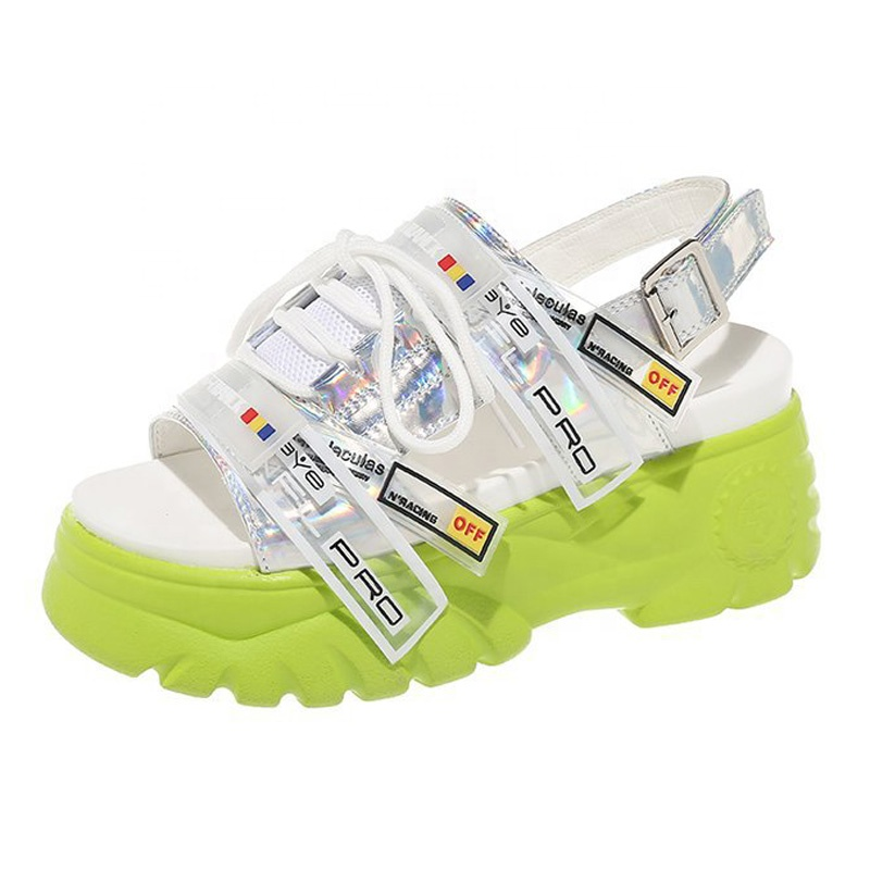 Wonderful top quality street style cool wholesale ladies platform sports <strong>sandals</strong> with cheap price