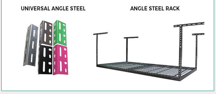 Galvanized Slotted Angle Steel Racks And Shelves