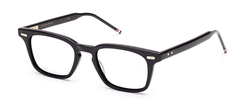 bad16c91138 Get Quotations · THOM BROWNE TB-402-A-BLK-49 Eyeglasses Black w Demo