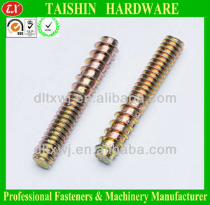 Double Ended Threaded Bar/Rods/Stud Bolts with both Machine & Self Tapping Thread Screws