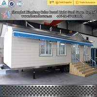 China Low Price Light Steel Structure House/Standard Light Gauge Steel Frame custom building/prefabricated villa for sale