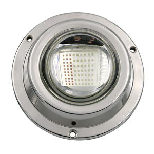 New function DV 24V IP68 100w small boat LED underwater light surface-mount light for pool/boat/fishing/dock