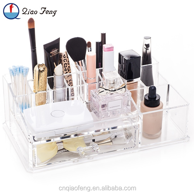 Top quality plastic cosmetic display tray