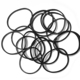 high quality durable black color rubber bands cheap price