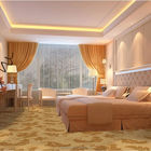 India hot selling golden floral wall carpets for hotel room supply in Guangzhou