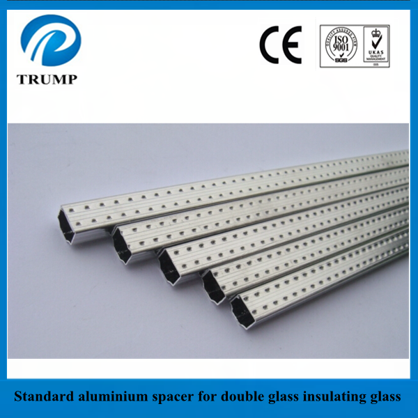 2015 best selling insulating glass spacer/ double glazing glass aluminium spacer bar
