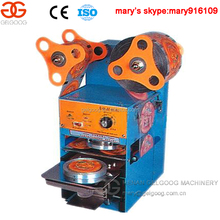automatic plastic cup sealing machine sealer for bubble tea