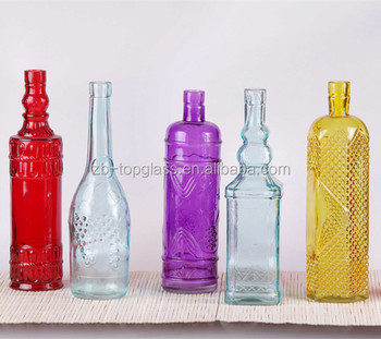 Different types glass wine bottle with painting buy for What kind of paint to use for wine bottles