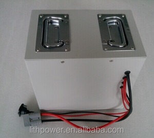 24v 100ah wheelchair lithium ion battery pack in metal housing with built in BMS