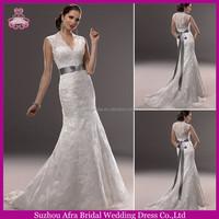 QQ3197 high neck custom beautiful white lace traditional wedding dress