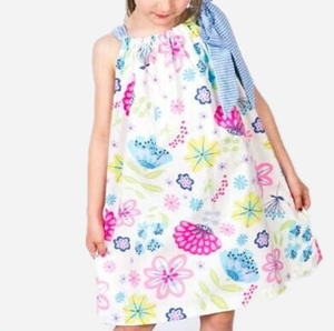 2016 super cute summer flower dress fashion frocks wholesale kids clothes