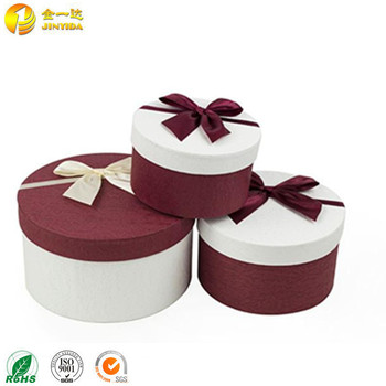 Cute Round Decorative Cardboard Cookie Gift Box With Lid Buy Decorated Gift Boxes With Lids Decorative Cardboard Boxes With Lids Cardboard Cookie