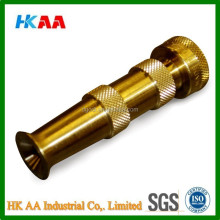 Heavy Duty Brass Adjustable Hose Nozzle, Garden Hose Nozzle