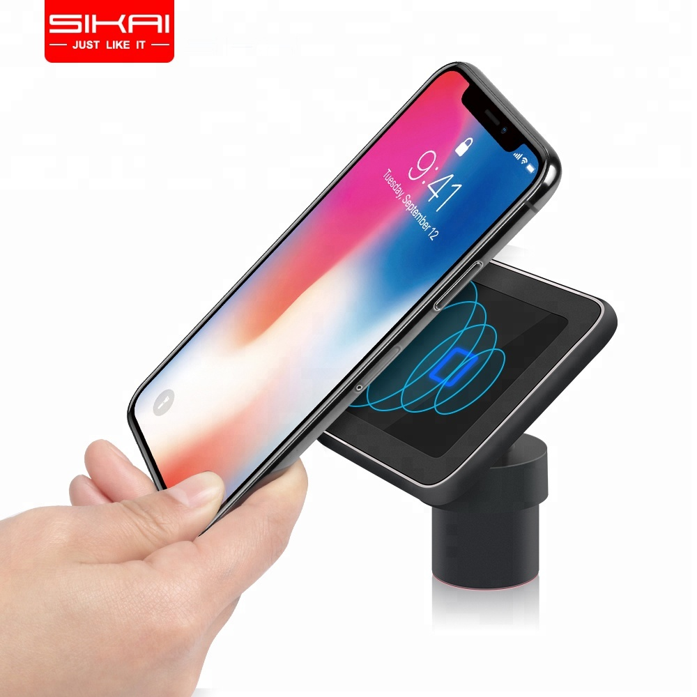 SIKAI Shenzhen QC 3.0 Car Charger 2018 Multiple Protection Durable Magnetic Wireless Charger For <strong>Apple</strong> 8 X XS XR Samsung Galaxy