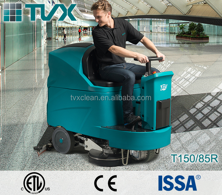 Factory direct sale high Performance industrial floor scrubber dryer with low price