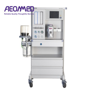air, Oxygen, NO2 tube anesthesia vaporizer equipment anesthesia apparatus  price anesthesia machine fda
