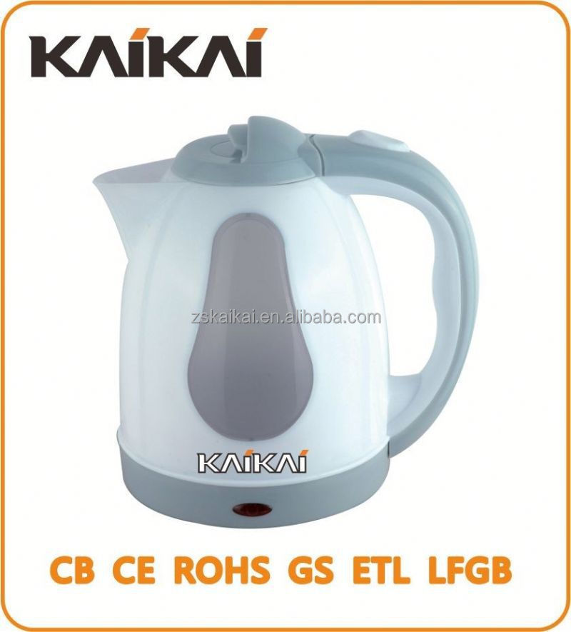 Made in China color electrc change plastic kettle
