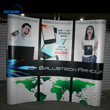 Expo Stand Backdrop : Aluminium exhibition stand backdrop design fabric tension pop up