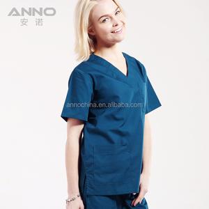 New fashion scrubs wholesale medical nurse hospital uniform